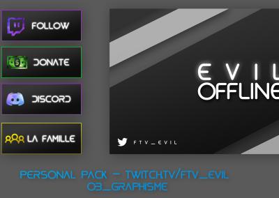 Evil - Pack